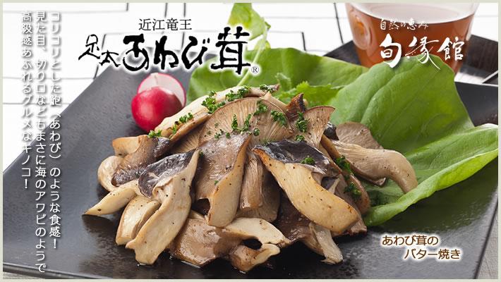 あわび茸のバター焼き 滋賀県竜王町産 足太あわび茸